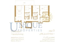 1 JBR 3 Bedroom Levels 32 to 41