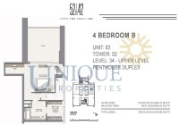 52 | 42 Unit 2 Level 34 Upper Level