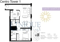 Boulevard Central Suite 3 Level 21 to 22