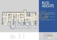 Boulevard Heights Unit 1 Levels 25 to 39