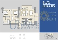 Boulevard Heights Unit 2 Levels 4 to 23 and 25 to 39