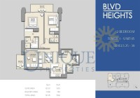 Boulevard Heights Unit 5 Levels 25 to 39