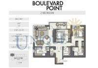 Boulevard Point Unit 2 Levels 22 to 26