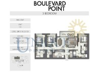Boulevard Point Unit 3 Levels 28 to 50 and 52 to 59