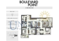 Boulevard Point Unit 6 Levels 28 to 50 and 52 to 59