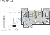 Burj Royale Unit Type B with Terrace