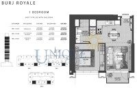 Burj Royale Unit Type B3 with Balcony