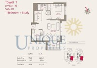 Claren Towers Suite 1 Level 3 to 16