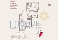 Claren Towers Suite 1 Levels 22 and 23