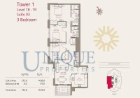 Claren Towers Suite 3 Levels 18 to 19