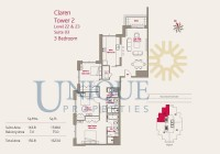 Claren Towers Suite 3 Levels 22 to 23