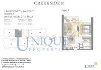 Creek Side 18 Unit 1 Level 2 to 16 and 18 to 33