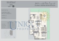 Dubai Creek Residence Unit 1 Level 3