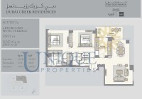 Dubai Creek Residence Unit 1 Levels 4 to 15 and 17 to 27