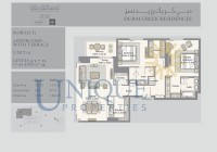 Dubai Creek Residence Unit 1 Levels 4 to 5 and 7 to 15 and 17 to 25 and 27 to 34