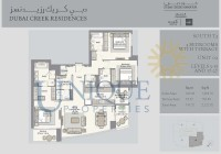 Dubai Creek Residence Unit 2 Levels 3 to 15 and 17 to 27