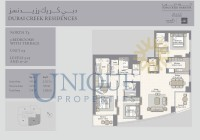 Dubai Creek Residence Unit 3 Levels 3 to 15 and 17 to 27