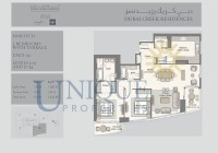 Dubai Creek Residence Unit 3 Levels 3 to 15 and 17 to 34