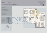 Dubai Creek Residence Unit 4 Levels 4 to 15 and 17 to 27