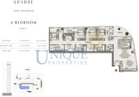 Grande Unit 1  Level Penthouse