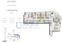 Grande Unit 3 Level Penthouse