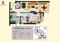 Marina Residence Type B Levels 1 to 16