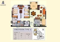 Marina Residence Type E Levels 1 to 12