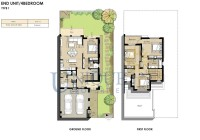 Naseem Townhouses End Unit Type 1