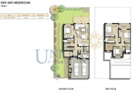 Naseem Townhouses End Unit Type 4
