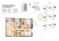 Park Lane Residence Unit 5 and 14 Levels 2 to 12 and unit 1 and 9 Level 14