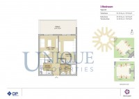 Remraam 1 Bedroom Type 3A