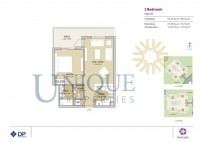Remraam 1 Bedroom Type 4A