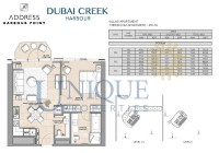The Address Harbour Point 1 Bedroom PD 1A