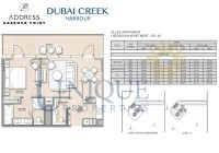 The Address Harbour Point 1 Bedroom PD 1B