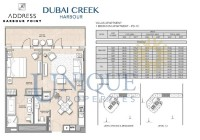 The Address Harbour Point 1 Bedroom PD 1C