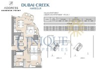 The Address Harbour Point 2 Bedroom PD 2A 1