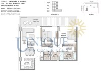 The Pulse Boulevard Grove End Unit Variation 3B New