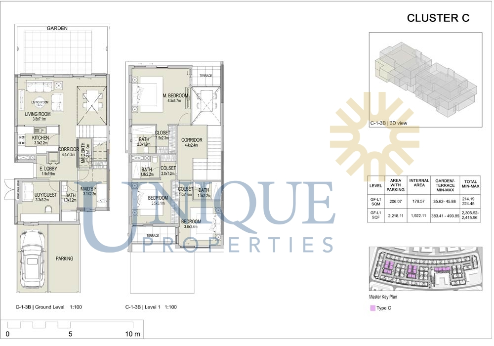 The Pulse Townhouses Floorplans