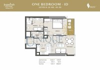 The Residences at Marina Gate 1D Levels 21 to 40 and 43 to 55