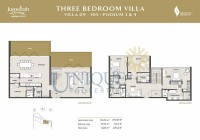The Residences at Marina Gate Villa 09 to 305 Podium 3 and 4
