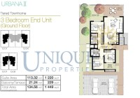 Urbana III End Unit Ground Floor