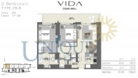 Vida Residence Dubai Mall Unit 5 Levels 17 to 38